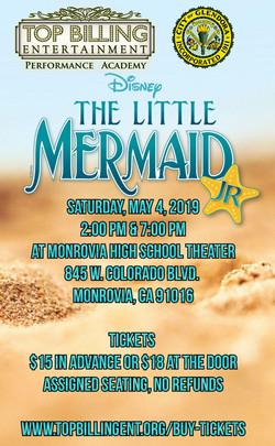 Little Mermaid Jr. May 2019