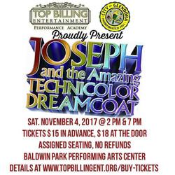 Joseph & the ATD Nov 2017