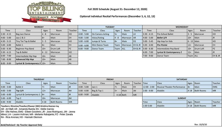 Fall 2020 schedule classes rev 10-9.jpg