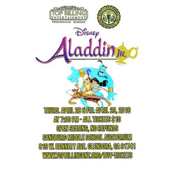 Aladdin Jr. April 2016