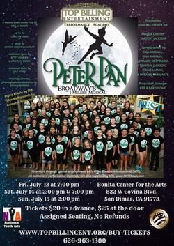 Peter Pan July 2018