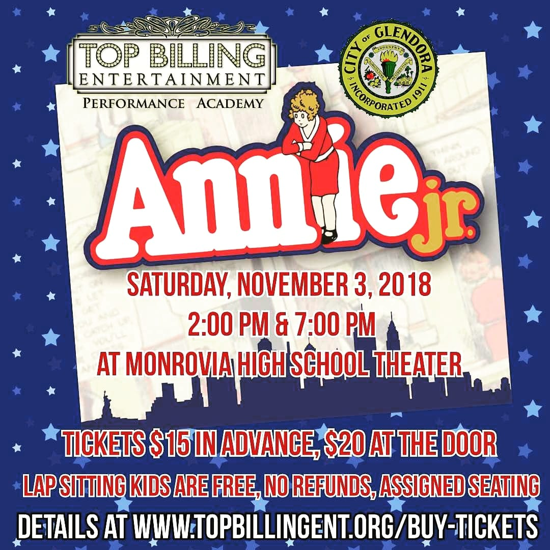 Annie Jr. Nov 2018