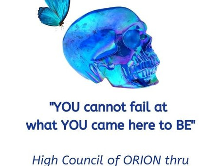 High Council of ORION message 8th Jan 2021