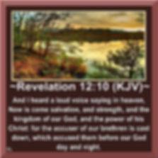 Revelaton 12:10 KJV