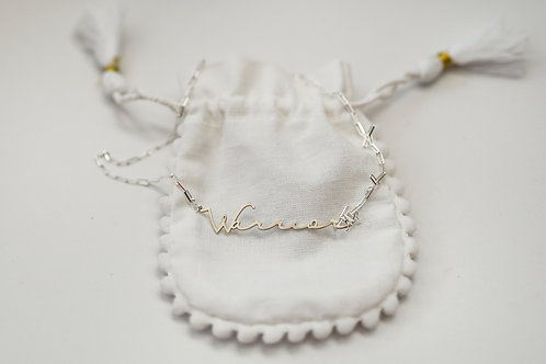 WARRIOR STERLING SILVER NECKLACE