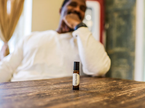 Santal Smoke Men's Fragrance Oil (10 ml Roll-On)