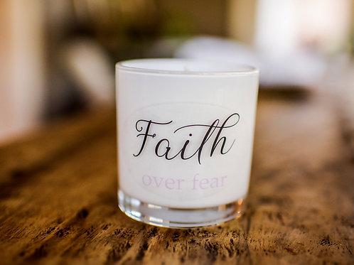 FAITH OVER FEAR CANDLE
