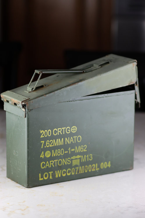 Ammo Can Candle