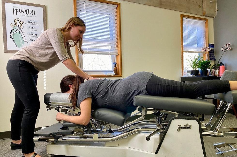 Shine chiropractic, pregnancy adjustment, prenatal chiropractic