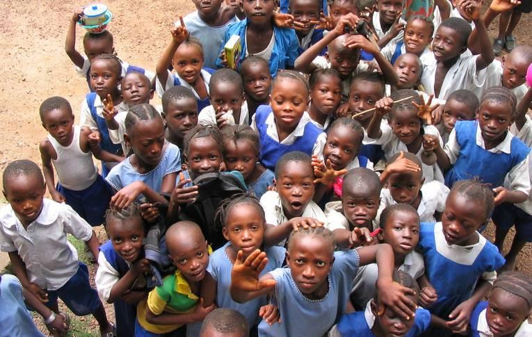 Orphans in Sierra Leone