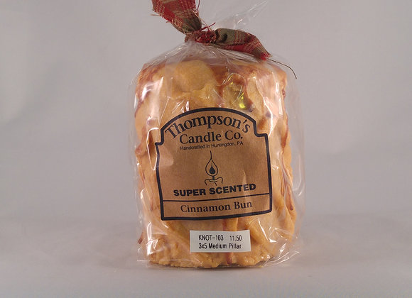 Thompson Candle 18oz. Pillar Cinnamon Buns