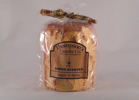 Thompson Candle 18oz. Pillar Sugar & Spice