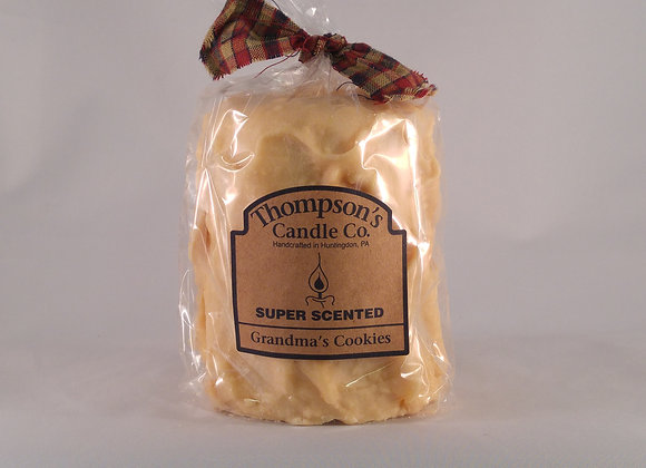 Thompson Candle 18oz. Pillar Grandma's Cookies