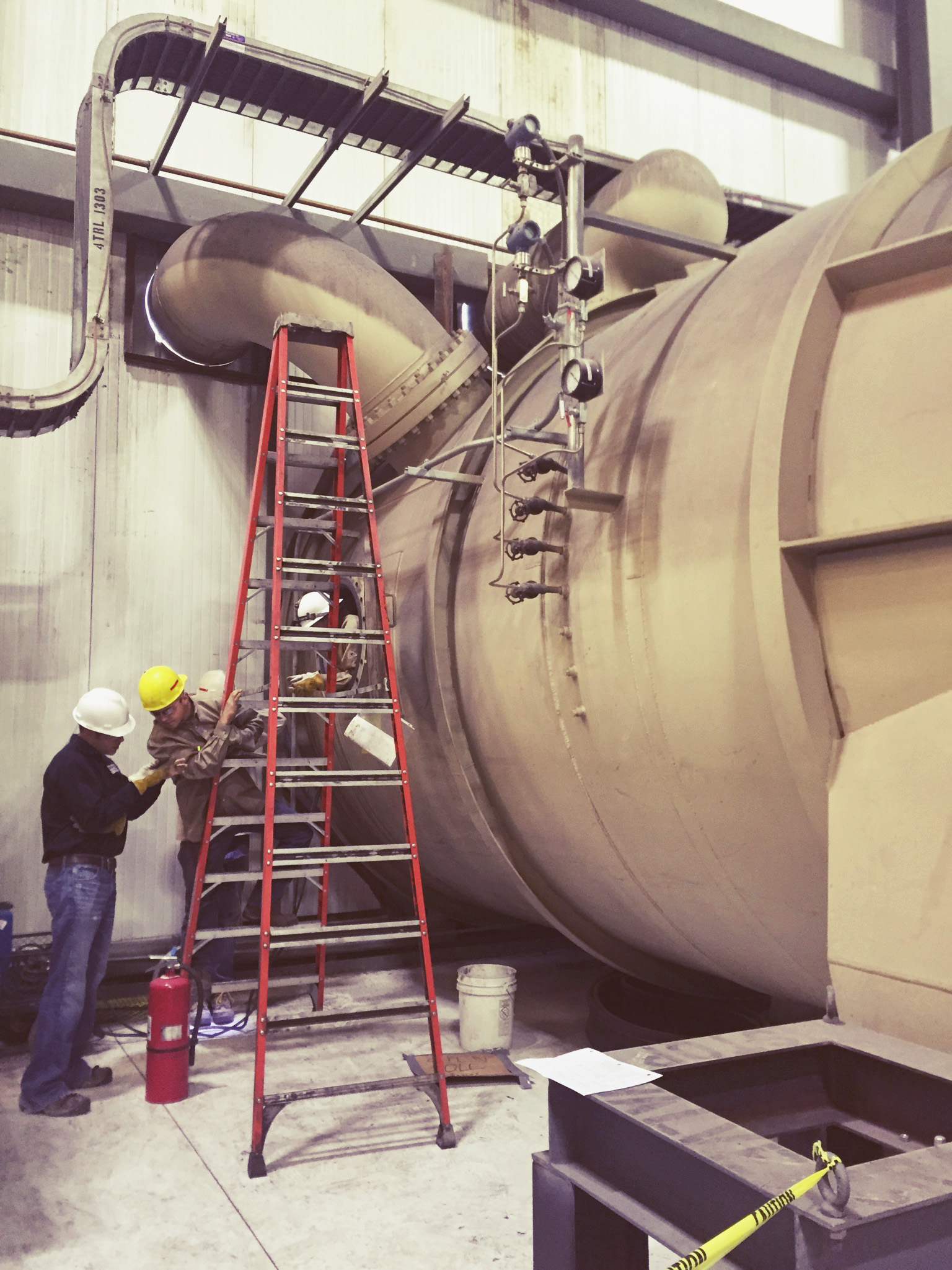 Turbine Duct Repair
