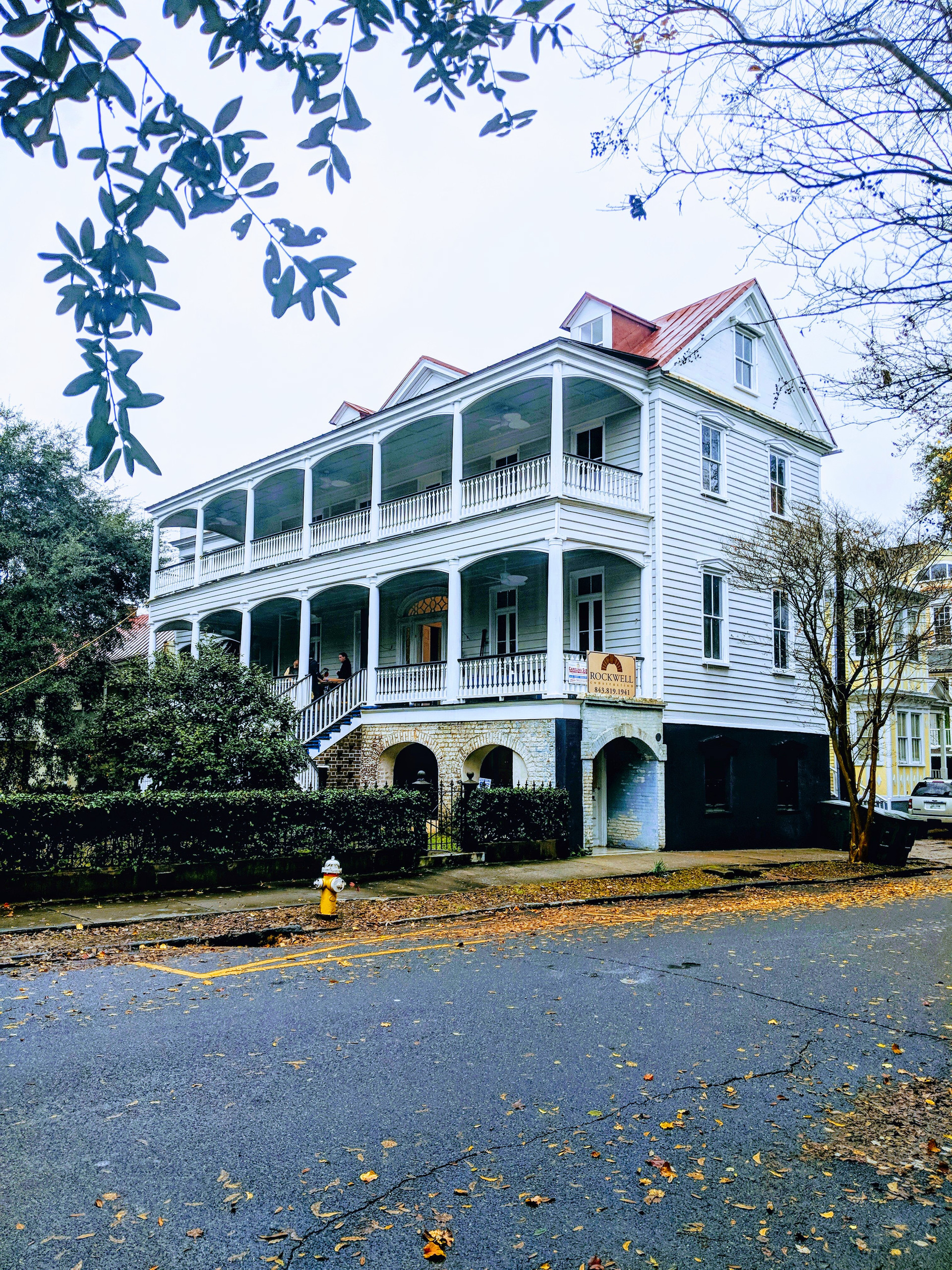 Historical Restoration Project Downtown Charleston SC