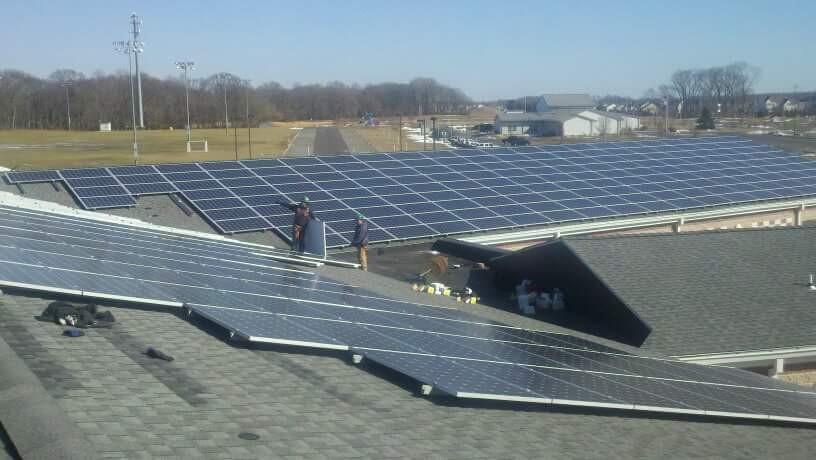 Solar Array Project Trenton NJ