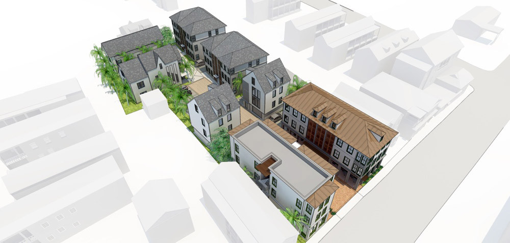 Spring Street Apartments and Mixed Use Complex Downtown Charleston SC