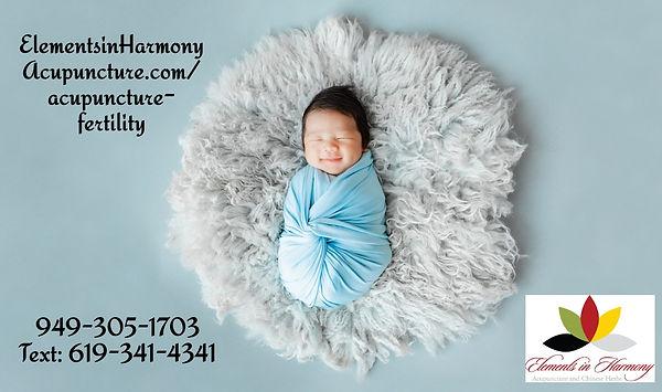 fertility baby-wrapprd-in-blue-cocoon-sl