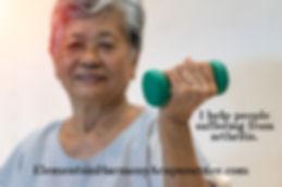 arthritis senior-elderly-asia-woman-hand