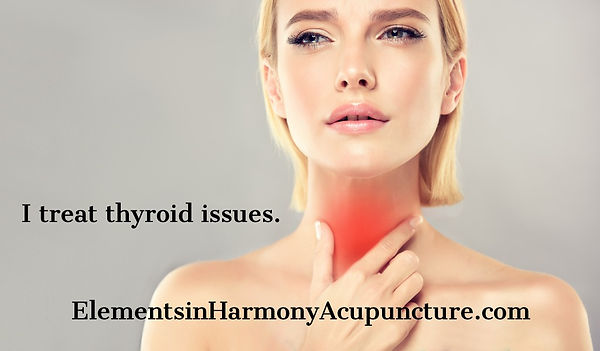 thyroid attractive-woman-is-touching-the