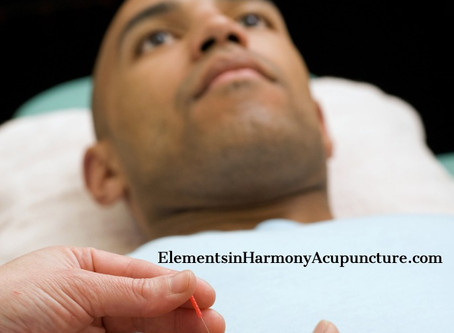 I treat men effectively with Balance Method Acupuncture.