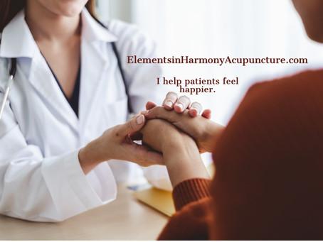 I help patients feel happier.