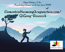 qi gong research illustration-of-parting
