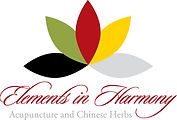 This is a the Elements in Harmony lotus logo.