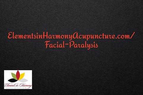 facial paralysis sheet-of-black-paper-te