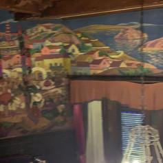 Imagenes del mural del comedor