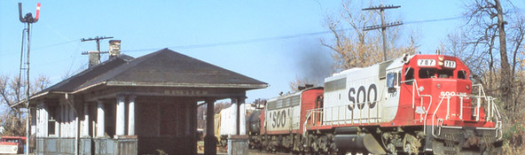 Depot and Railroad Artifacts