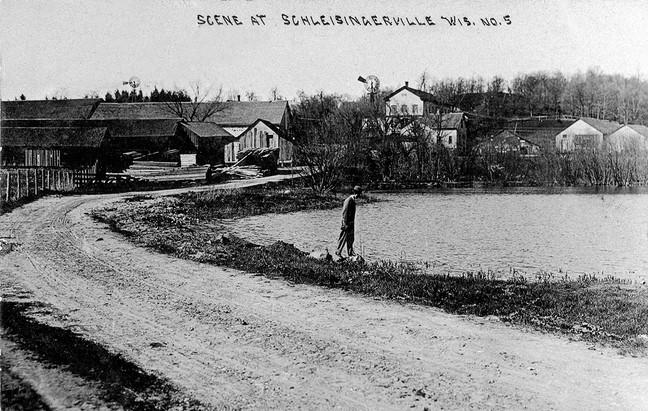 Schleisingerville Pond