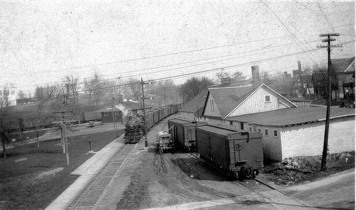 Depot From Kettle Moraine South with Steam Engine H