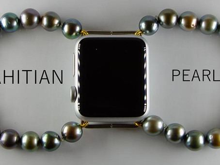 Tahitian Black Pearl - Apple Watch Band