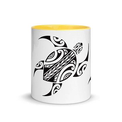 Honu Mug with Color Inside