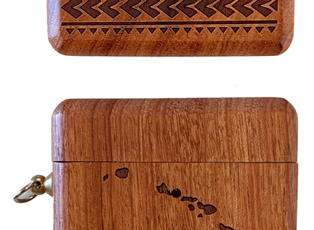 Check Out What's New: Hawaiian Islands Wood Air Pod Pro Case
