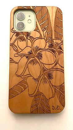 Plumeria Art Case (iPhone)