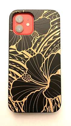 Tribal Hibiscus Case (iPhone)