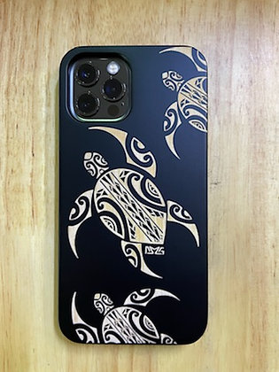 Tribal Honu Black Case (iPhone)