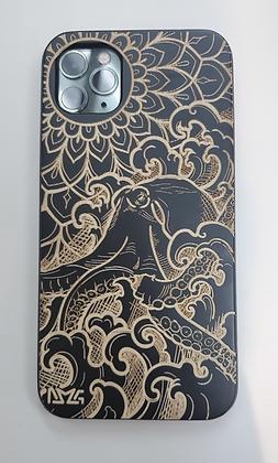 He'e (Octopus) Black Wood