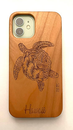 Hawaiian Sea Turtle Mandala Art