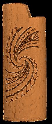 Tribal Waves Lighter Cover