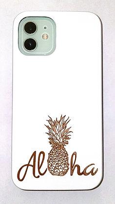 Aloha Pineapple White Case (iPhone)