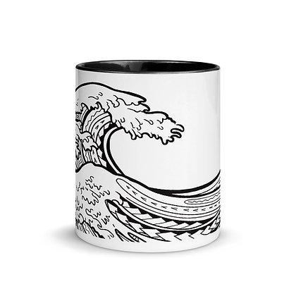 Nami Wave Mug with Color Inside