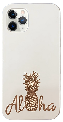 Aloha Pineapple White Case (iPhone)