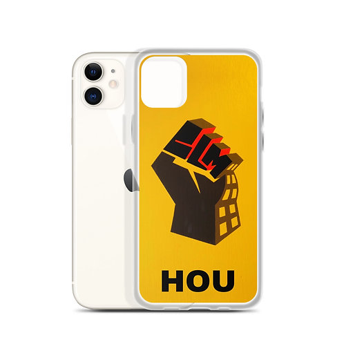 BLM HOU iPhone Case