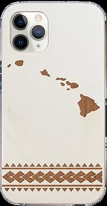 Hawaiian Islands Case White (iPhone)