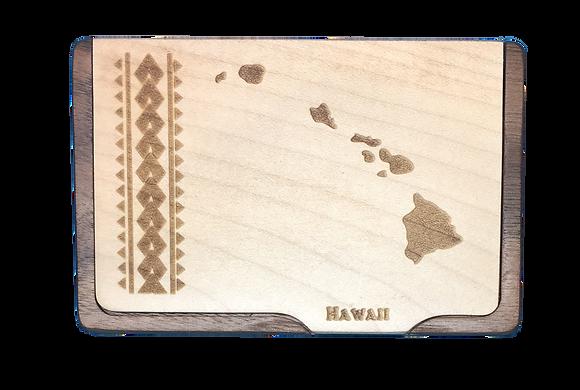 Hawaiian Islands Card Holder