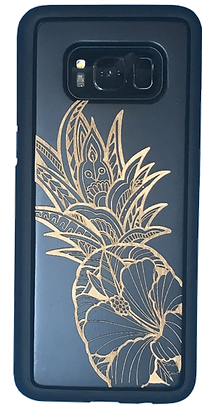 Hibiscus Pineapple Black Case (Samsung)