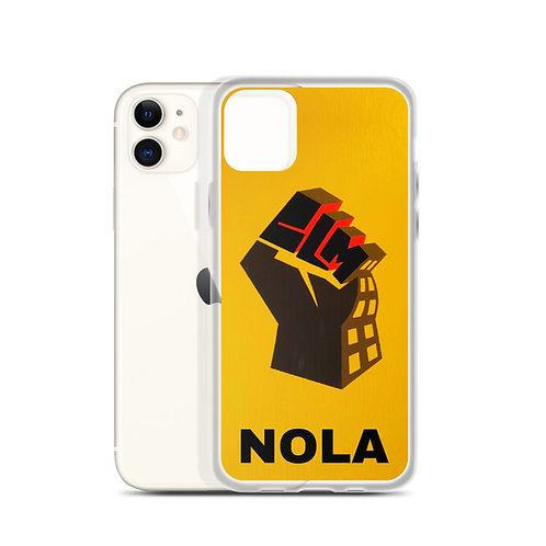 BLM NOLA iPhone Case
